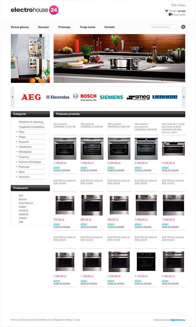 ElectroHouse24 - sklep internetowy
