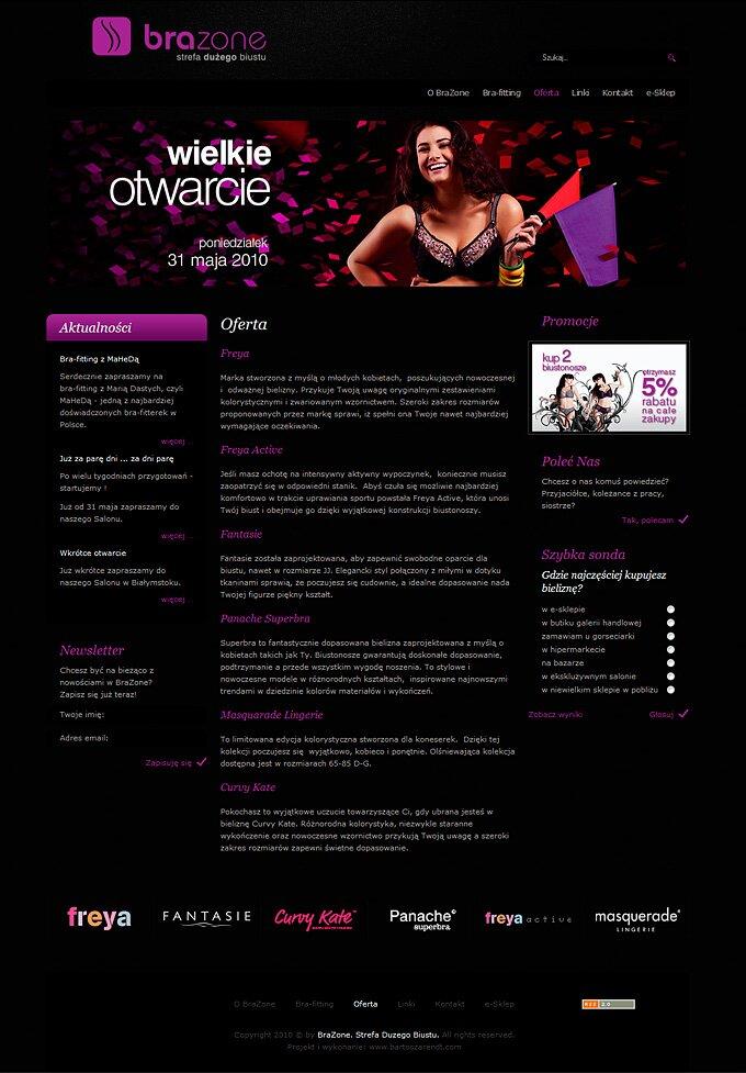 BraZone - strona www i sklep internetowy